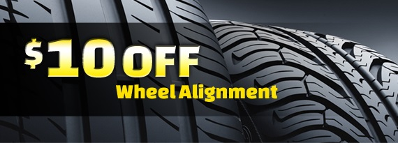 Alignment coupon in Easley, SC